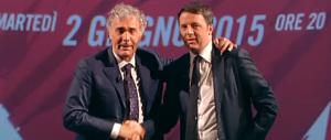 L'intervista-tappetino di Giletti a Renzi: «Ammetta, lei è bravo? Vincerà 7 a 0?»