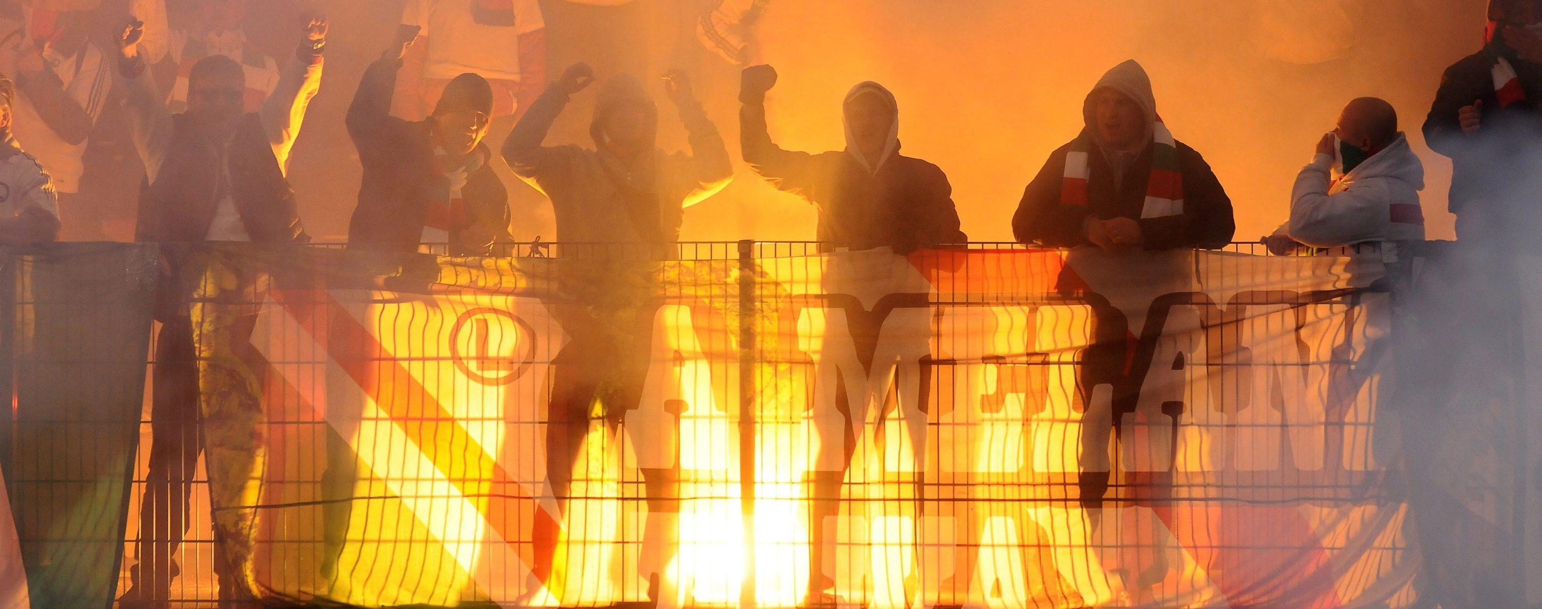 Hooligans in azione