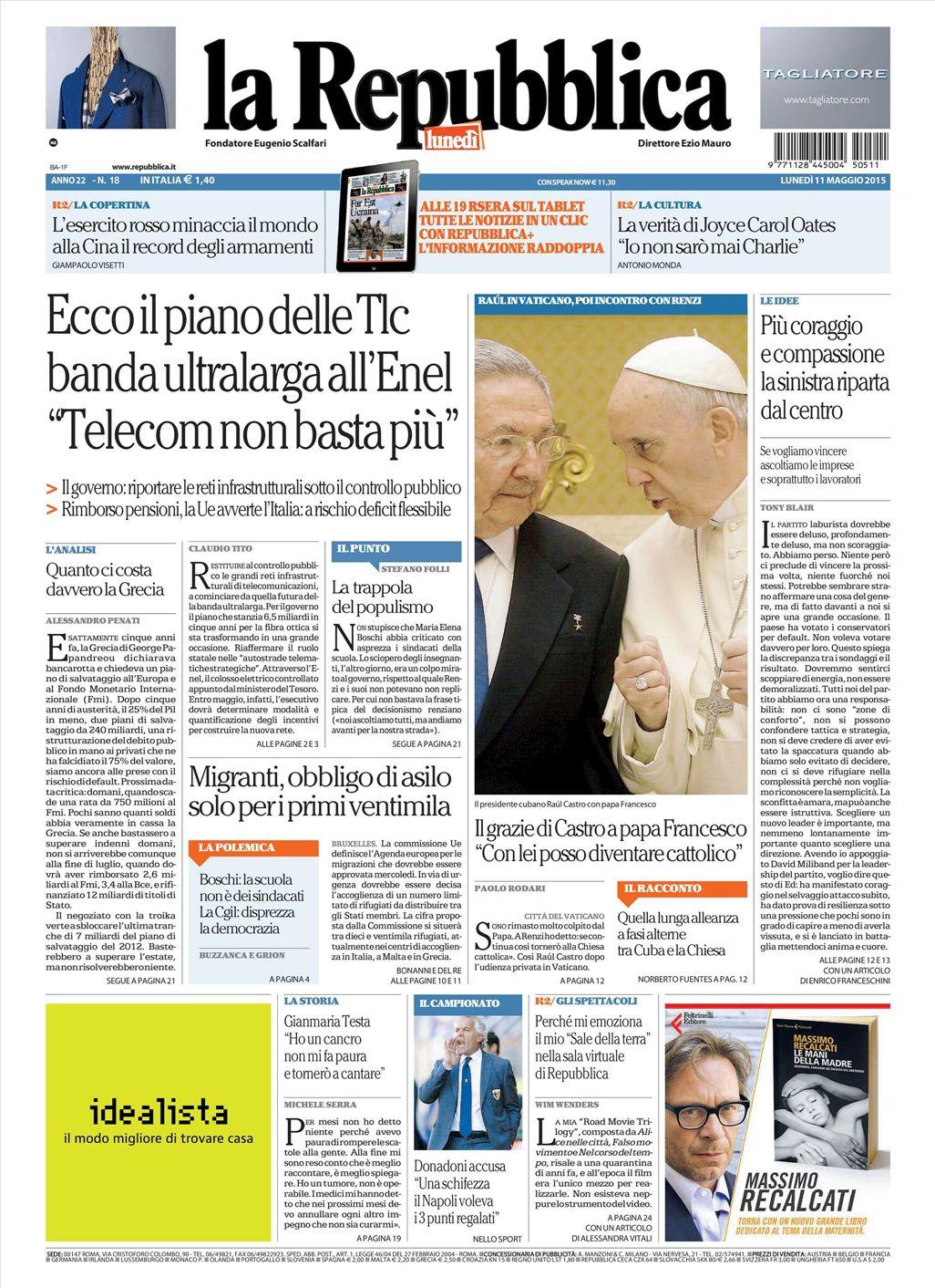 Repubblica Quotidiano Ecosia