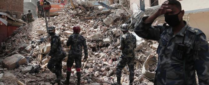 La terra trema ancora in Nepal. Fioche le speranze di trovare sopravvissuti
