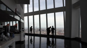 NY come mai vista, spettacolo dal top della Freedom Tower