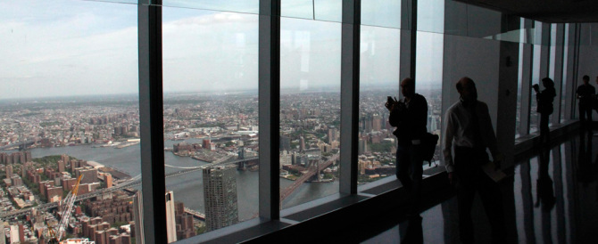 Una New York mai vista: le affascinanti immagini dell'One World Trade Center