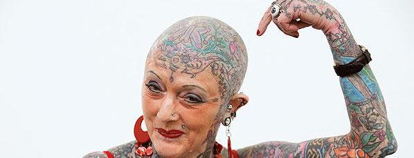 La donna più tatuata al mondo