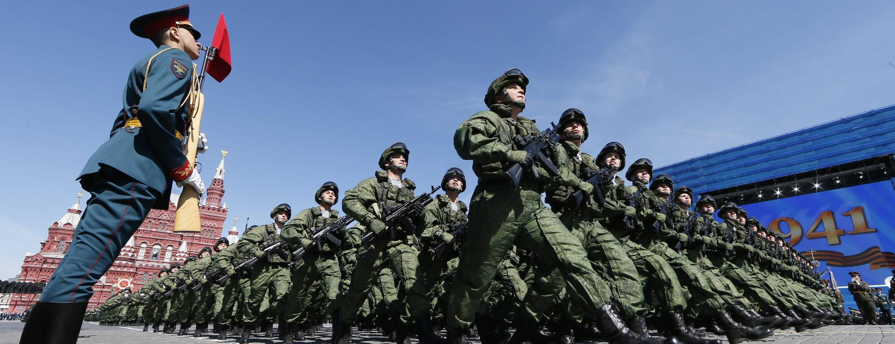 Una parata militare a Mosca