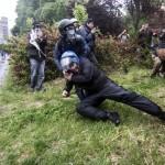 Assalto al poliziotto