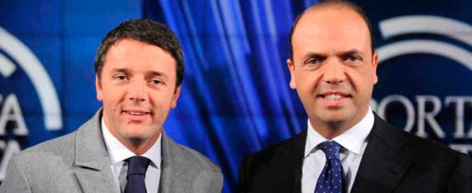 """Tutte le parole inutili di Renzi e Alfano, dalla """"testa dura"""" agli """"allenatori"""""""