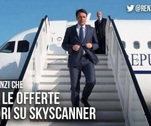 """""""Matteo Renzi fa cose"""": l'ego del premier scatena le ironie della Rete"""