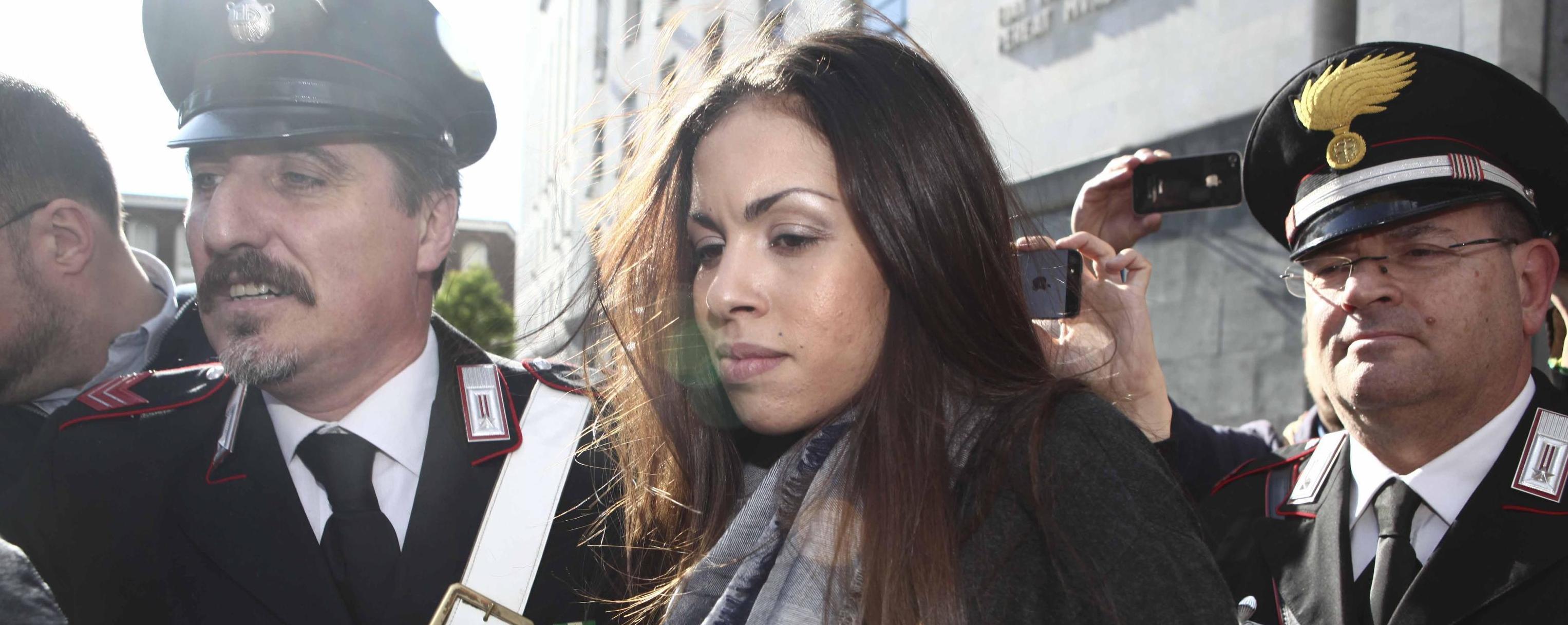 Ruby dopo la testimonianza al processo