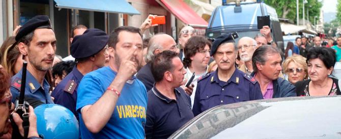 Salvini: «Le forze di polizia devono avere libertà assoluta di azione»