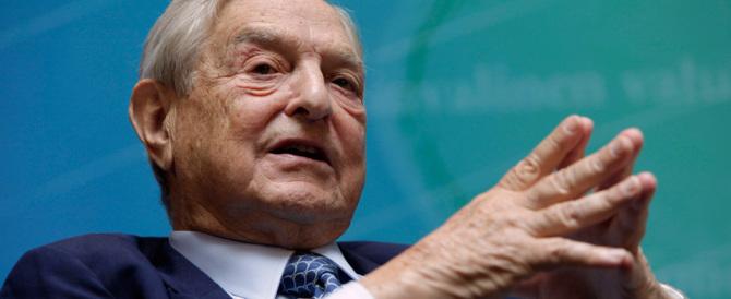 """È ufficiale: dietro le proteste anti-Trump la mano del """"filantropo"""" Soros"""
