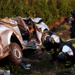 Five dead in worker van highway crash