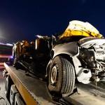 Five dead in worker van highway crash
