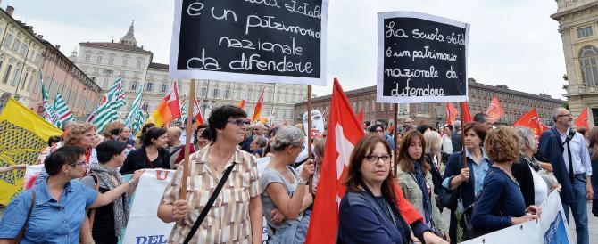 Scuola, studenti in piazza contro la riforma e un sit-in a Montecitorio