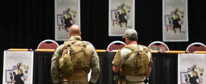 Usa, vignette su Maometto, spari a un evento satirico: uccisi i due terroristi
