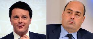 """Lite da condominio fra Zingaretti e Renzi sul filo della """"dottrina Ricucci"""""""