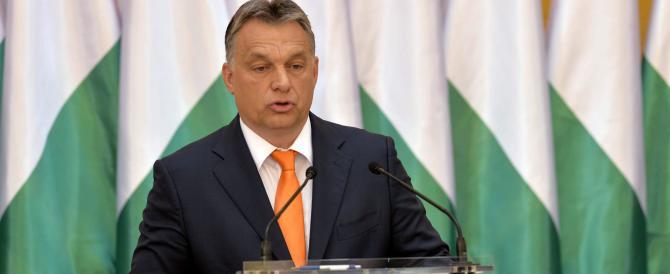 L'Ungheria costruirà un muro per fermare l'invasione degli immigrati