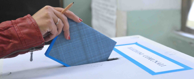 Comunali, molti i comuni al ballottaggio. Ecco i responsi delle urne