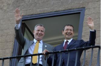 De Blasio sembra Marino: con lui sindaco a New York è record di reati