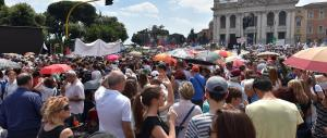 Per il Family Day piazza San Giovanni stracolma. Diretta streaming (video)