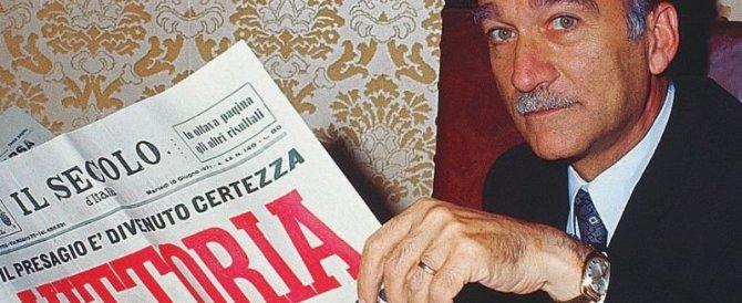 A Tagliacozzo la via intitolata a Giorgio Almirante scatena l'ira dei soliti idioti