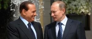 Berlusconi vola da Putin e non sarà solo una gita di piacere