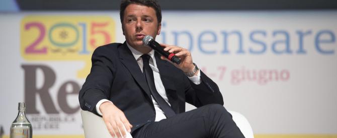 Renzi agita lo spettro Salvini: se mi attaccate, vince lui