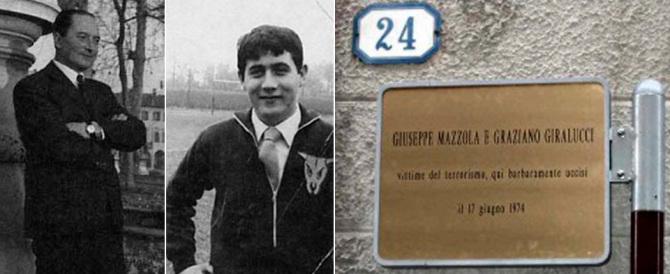 Padova ricorda la spietata esecuzione dei missini Mazzola e Giralucci (video)