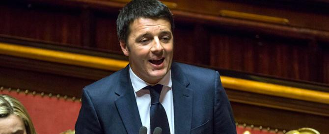Immigrati, Renzi al Senato con i soliti slogan. E l'Aula si surriscalda (Video)