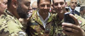 Renzi in Afghanistan: altro che Rambo, non ha neanche fatto il militare