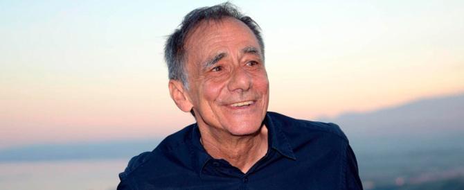 Roberto Vecchioni a sorpresa:  «Mi piace la Meloni, la seguo sempre»