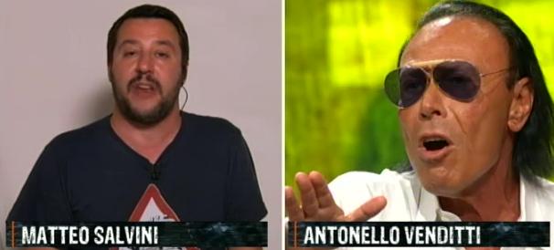 Venditti show anti-Lega a Ballarò. Ma il pubblico in studio tifa Salvini (VIDEO)