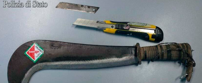 Capotreno ferito col machete, arrestato un altro aggressore