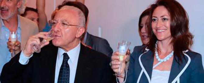 De Luca, nuovi guai: la compagna rinviata a giudizio per abuso d'ufficio