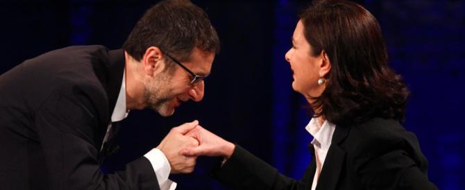 """Stipendio d'oro di Fazio, scatta la denuncia. Gasparri: """"Stracciamo il contratto"""""""