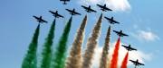 Frecce Tricolori, choc a Terracina: cade un aereo durante l'esibizione