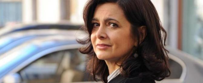 La Boldrini sempre più sola: anche il suo giovane fidanzato non c'è più
