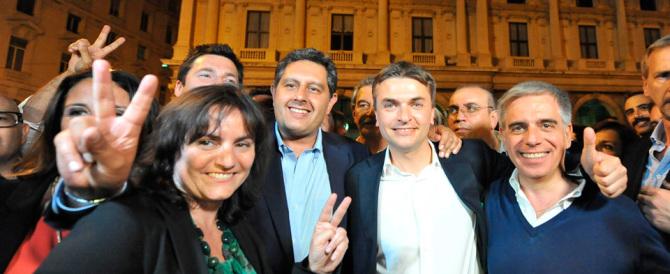 Pd sotto choc in Liguria. Paita KO. Toti: «Il centrodestra unito vince»