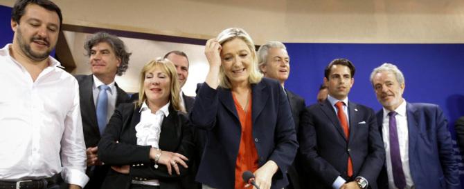 """Marine Le Pen lancia il gruppo """"L'Europa delle Nazioni e delle libertà"""""""