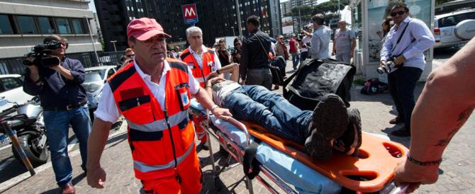 Inferno nella metro B di Roma: scontro tra treni, 21 i feriti, tragedia sfiorata