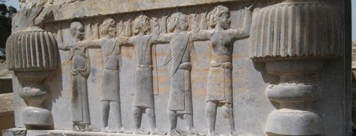 Una veduta di Persepoli
