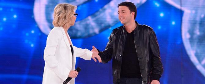 """Vergognoso, Renzi ottiene l'invito alla finalissima di """"Amici"""" per la seconda volta"""