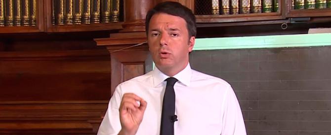 """Renzi sull'immigrazione ha pronto il """"piano B"""" se l'Europa non fa nulla"""