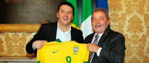 Renzi a pranzo con Lula. Quello che ci sbeffeggiò su Cesare Battisti…