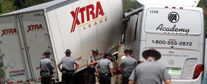 Niagara, confermati i tre morti italiani nella tragedia del bus travolto dal tir