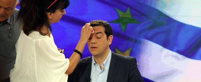 """Tsipras si piega: arriva un piano """"lacrime e sangue"""" da 12 miliardi"""