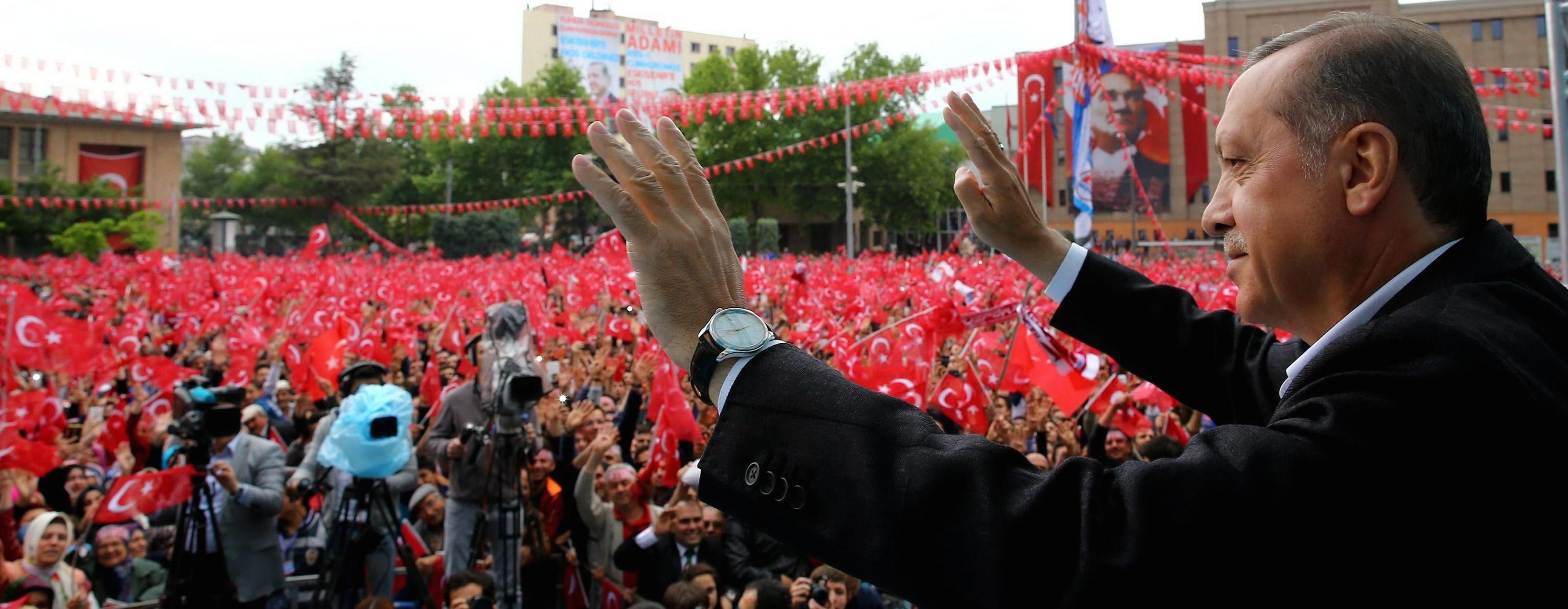 Il leader turco Erdogan