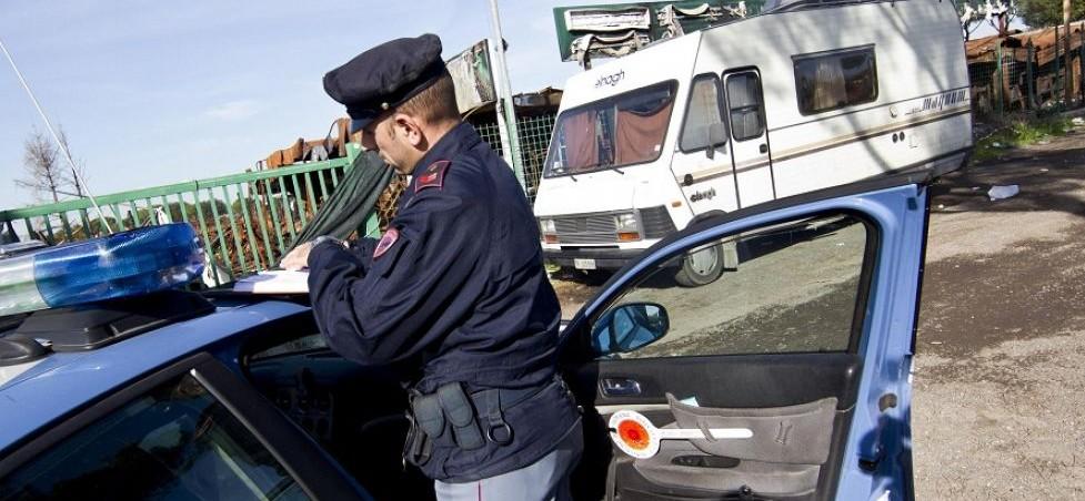 polizia nomadi
