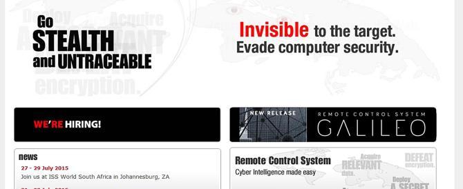 Rubato il software degli 007: ora chiunque può spiare i nostri computer