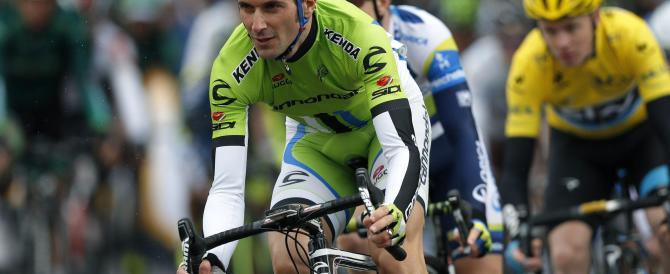 Choc al Tour de France: Ivan Basso si ritira, ha un cancro ai testicoli