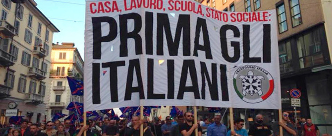 Casapound, venerdì presidio a Ostia: «Cittadini ostaggi degli stranieri»